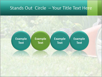 Green Grass In Garden PowerPoint Template - Slide 76