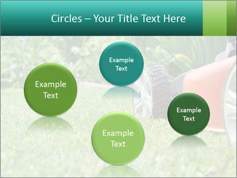 Green Grass In Garden PowerPoint Template - Slide 77