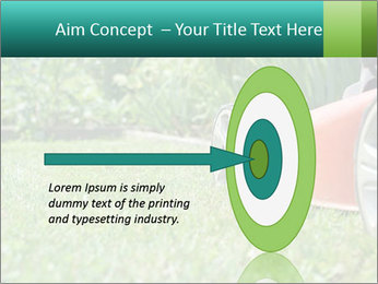 Green Grass In Garden PowerPoint Template - Slide 83