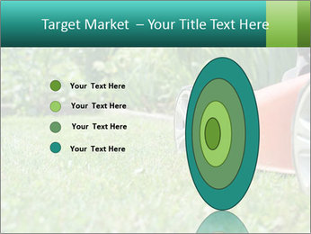 Green Grass In Garden PowerPoint Template - Slide 84