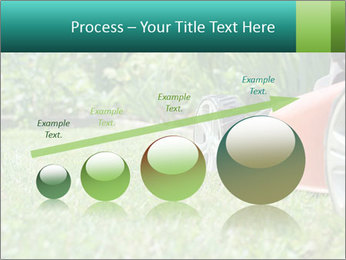 Green Grass In Garden PowerPoint Template - Slide 87