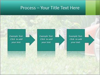 Green Grass In Garden PowerPoint Template - Slide 88