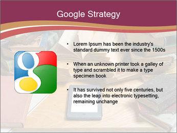 Tablet VS Books PowerPoint Template - Slide 10