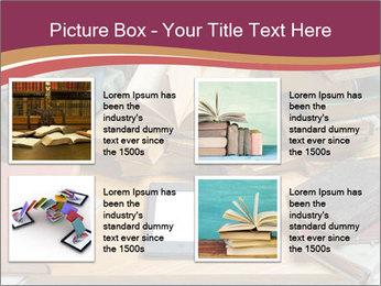 Tablet VS Books PowerPoint Template - Slide 14