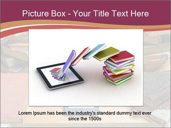 Tablet VS Books PowerPoint Template - Slide 15