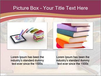 Tablet VS Books PowerPoint Template - Slide 18