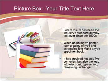 Tablet VS Books PowerPoint Template - Slide 20