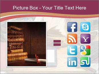 Tablet VS Books PowerPoint Template - Slide 21