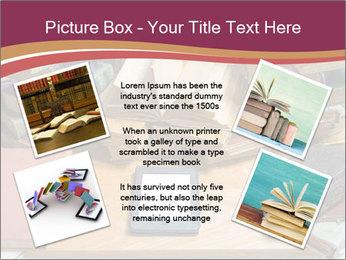 Tablet VS Books PowerPoint Template - Slide 24