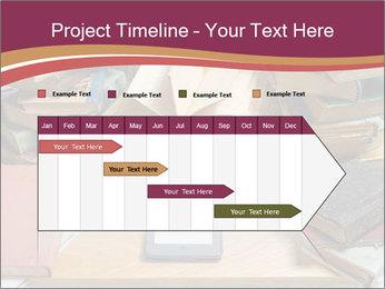 Tablet VS Books PowerPoint Template - Slide 25