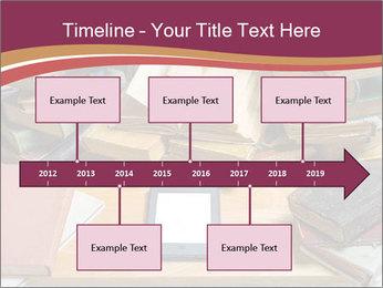 Tablet VS Books PowerPoint Template - Slide 28