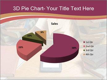 Tablet VS Books PowerPoint Template - Slide 35