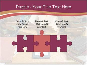 Tablet VS Books PowerPoint Template - Slide 42