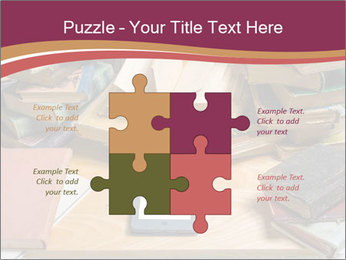 Tablet VS Books PowerPoint Template - Slide 43