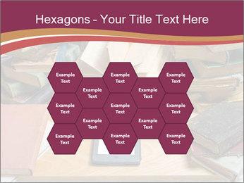 Tablet VS Books PowerPoint Template - Slide 44