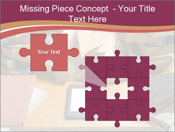 Tablet VS Books PowerPoint Template - Slide 45
