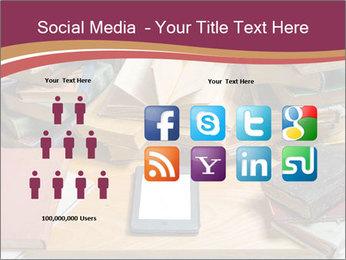 Tablet VS Books PowerPoint Template - Slide 5