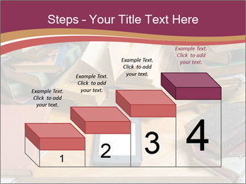 Tablet VS Books PowerPoint Template - Slide 64