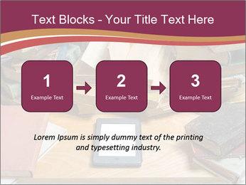 Tablet VS Books PowerPoint Template - Slide 71