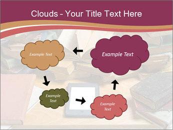 Tablet VS Books PowerPoint Template - Slide 72