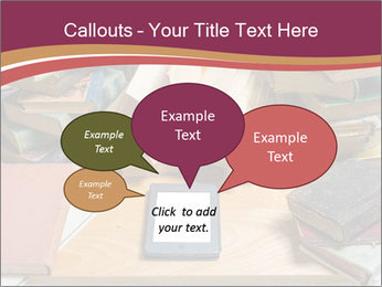Tablet VS Books PowerPoint Template - Slide 73