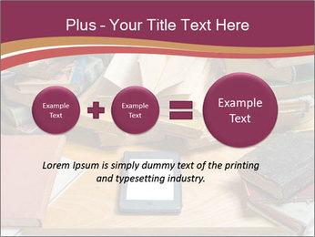 Tablet VS Books PowerPoint Template - Slide 75