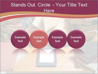 Tablet VS Books PowerPoint Template - Slide 76