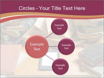 Tablet VS Books PowerPoint Template - Slide 79