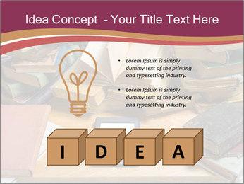 Tablet VS Books PowerPoint Template - Slide 80