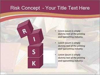 Tablet VS Books PowerPoint Template - Slide 81
