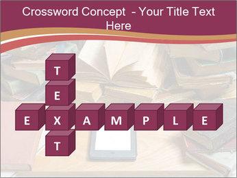 Tablet VS Books PowerPoint Template - Slide 82