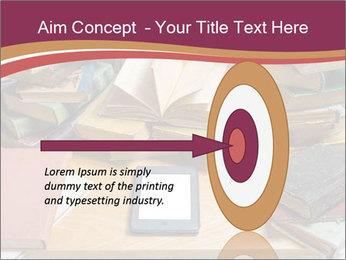 Tablet VS Books PowerPoint Template - Slide 83
