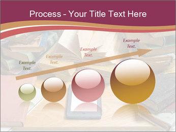 Tablet VS Books PowerPoint Template - Slide 87