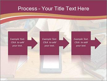 Tablet VS Books PowerPoint Template - Slide 88