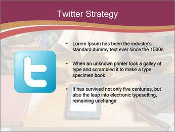Tablet VS Books PowerPoint Template - Slide 9