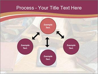 Tablet VS Books PowerPoint Template - Slide 91