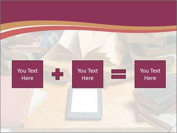 Tablet VS Books PowerPoint Template - Slide 95