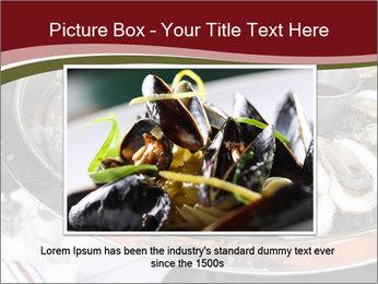 Fresh Mollusks PowerPoint Template - Slide 16