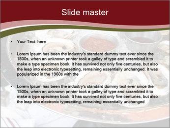 Fresh Mollusks PowerPoint Template - Slide 2