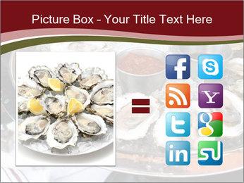 Fresh Mollusks PowerPoint Template - Slide 21
