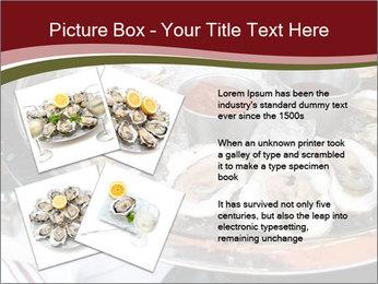 Fresh Mollusks PowerPoint Template - Slide 23