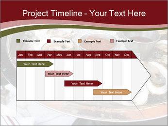 Fresh Mollusks PowerPoint Template - Slide 25