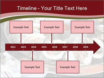 Fresh Mollusks PowerPoint Template - Slide 28