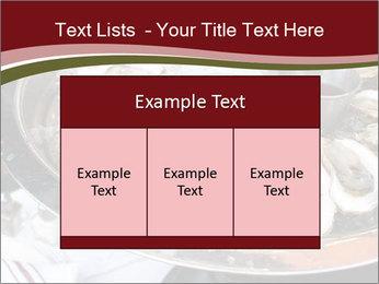 Fresh Mollusks PowerPoint Template - Slide 59