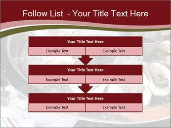 Fresh Mollusks PowerPoint Template - Slide 60