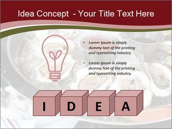 Fresh Mollusks PowerPoint Template - Slide 80
