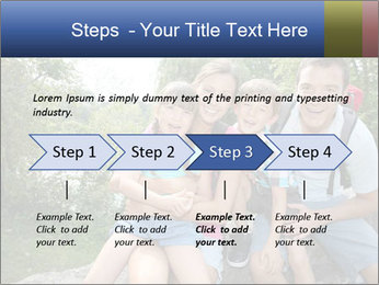 Family Hiking PowerPoint Template - Slide 4