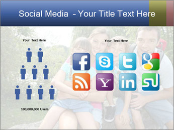 Family Hiking PowerPoint Template - Slide 5