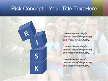 Family Hiking PowerPoint Template - Slide 81