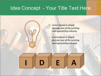 Leathercraft PowerPoint Templates - Slide 80